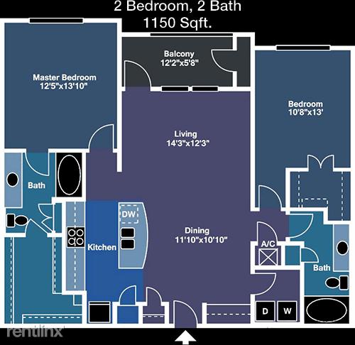 2 Bedrooms, Arlington Rental in Dallas for $1,723 - Photo 1