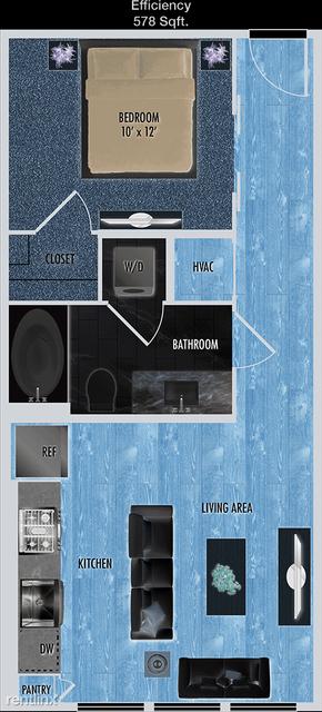 1 Bedroom, Uptown-Galleria Rental in Houston for $1,240 - Photo 1