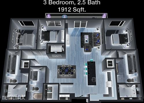 3 Bedrooms, San Felipe Square Rental in Houston for $3,519 - Photo 1