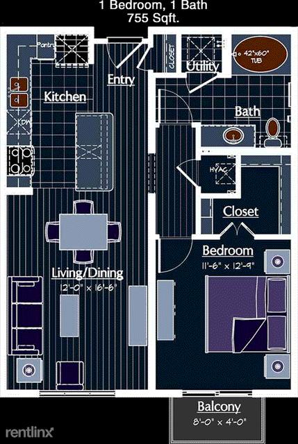 1 Bedroom, San Felipe Green Rental in Houston for $1,710 - Photo 1