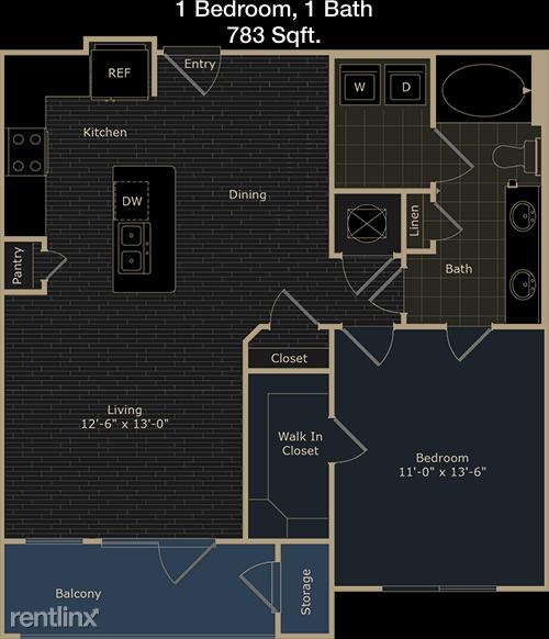 1 Bedroom, Fulshear-Simonton Rental in Houston for $1,060 - Photo 1