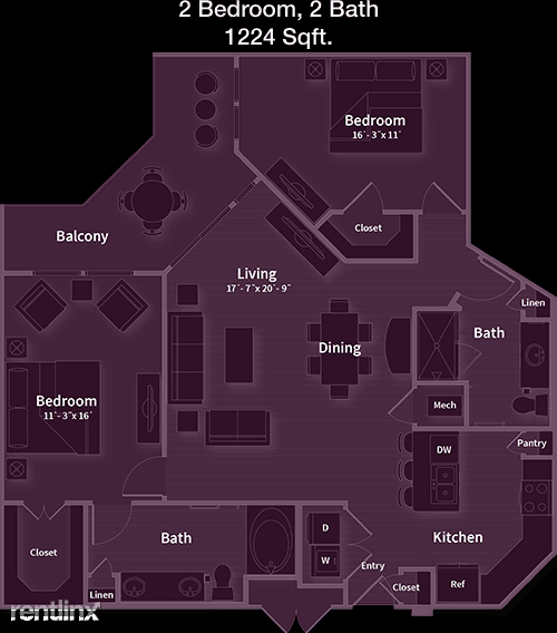 1 Bedroom, Cinco Ranch Rental in Houston for $1,398 - Photo 1