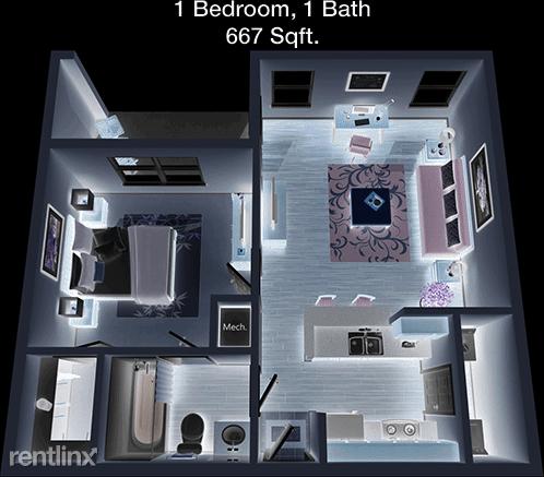 1 Bedroom, Kingwood Rental in Houston for $991 - Photo 1