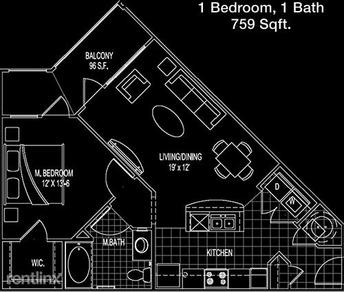 1 Bedroom, Lake Houston Rental in Houston for $1,035 - Photo 1