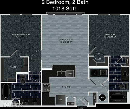 1 Bedroom, Memorial Rental in Houston for $1,193 - Photo 1