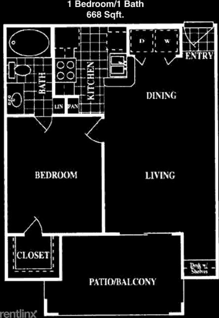 1 Bedroom, Creekstone Apts Rental in Houston for $999 - Photo 1