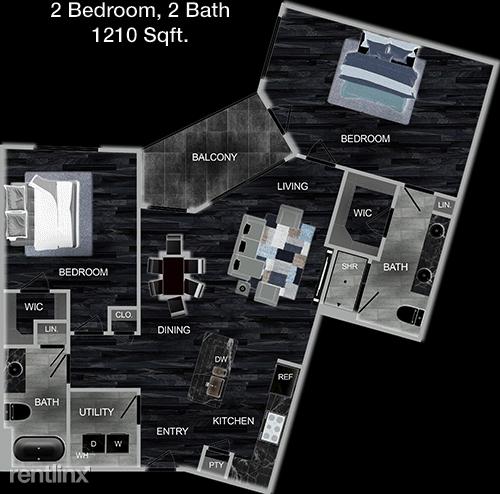 2 Bedrooms, Memorial Rental in Houston for $1,859 - Photo 1