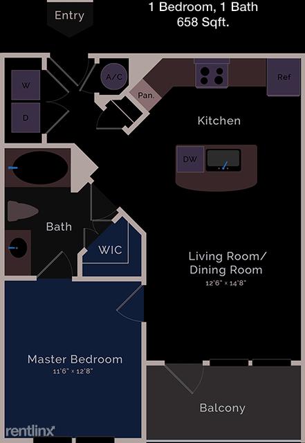 1 Bedroom, Briargrove Park Rental in Houston for $1,400 - Photo 1