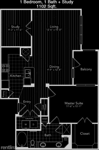 1 Bedroom, Great Uptown Rental in Houston for $1,154 - Photo 1