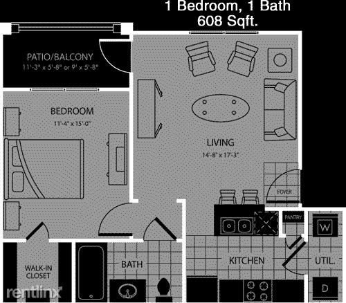 1 Bedroom, Magnolia Rental in Houston for $1,005 - Photo 1
