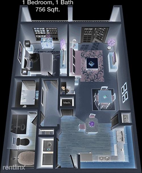 1 Bedroom, Sterling Ridge Rental in Houston for $1,033 - Photo 1