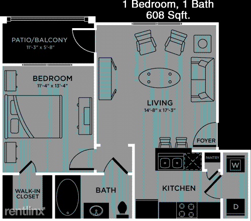 1 Bedroom, Southeast Montgomery Rental in Houston for $1,067 - Photo 1