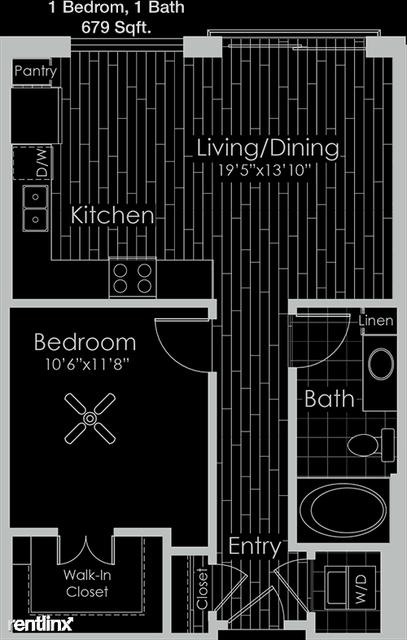 1 Bedroom, East Shore Rental in Houston for $1,134 - Photo 1
