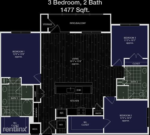 3 Bedrooms, Grogan's Mill Rental in Houston for $2,225 - Photo 1