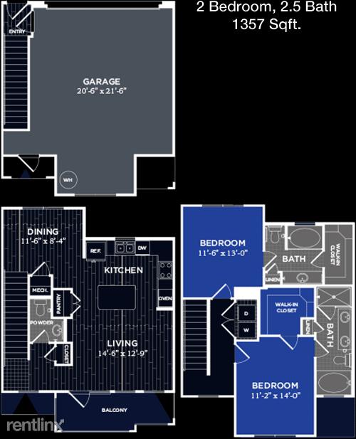 2 Bedrooms, Grogan's Mill Rental in Houston for $2,260 - Photo 1