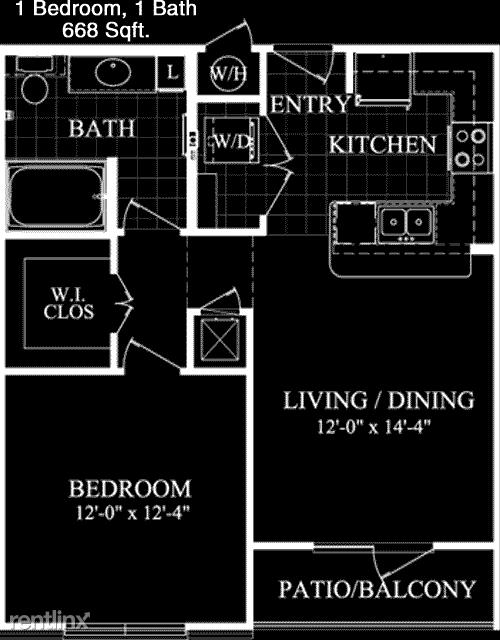 1 Bedroom, Alvin-Pearland Rental in Houston for $1,175 - Photo 1