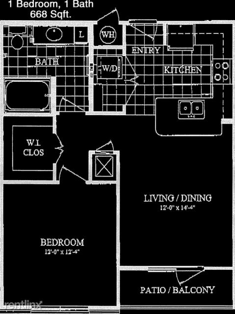 1 Bedroom, Alvin-Pearland Rental in Houston for $1,320 - Photo 1
