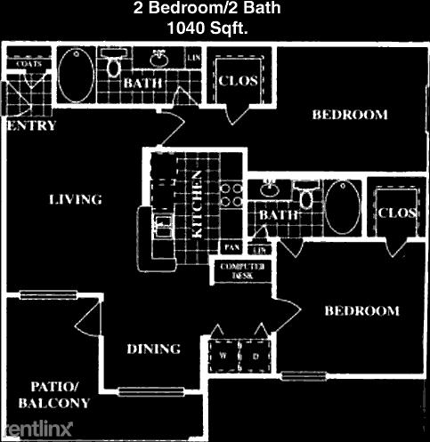 2 Bedrooms, Eldridge - West Oaks Rental in Houston for $1,299 - Photo 1