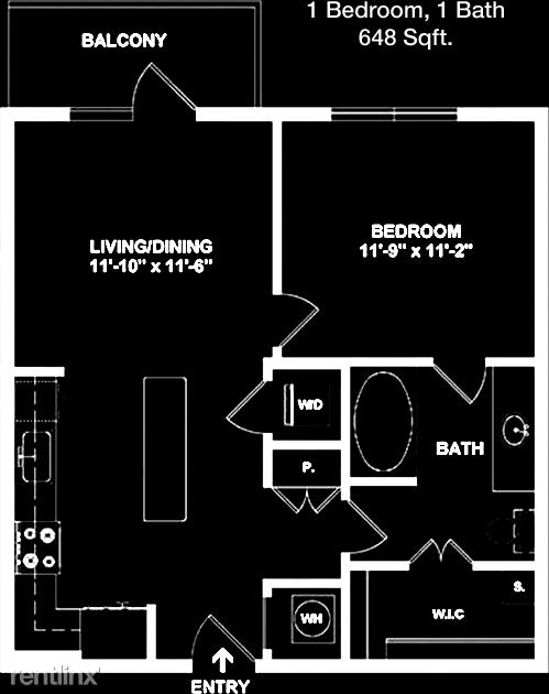 1 Bedroom, Stafford-Missouri City Rental in Houston for $1,383 - Photo 1