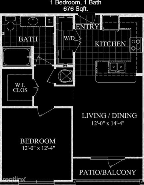 1 Bedroom, Sugar Land Rental in Houston for $1,164 - Photo 1