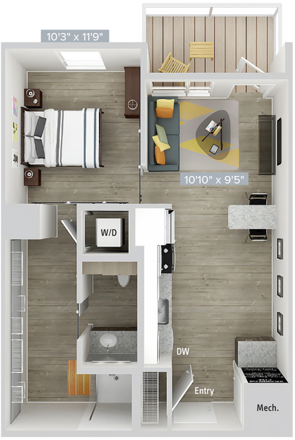 1 Bedroom, Natick Rental in Boston, MA for $2,970 - Photo 1