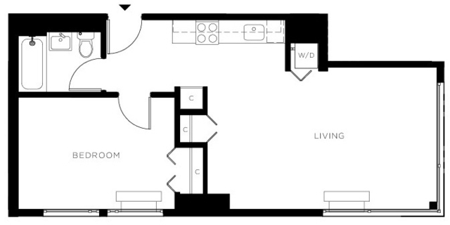 1 Bedroom, Central Harlem Rental in NYC for $3,200 - Photo 1