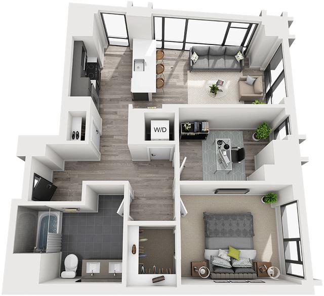 1 Bedroom, Shawmut Rental in Boston, MA for $3,999 - Photo 1