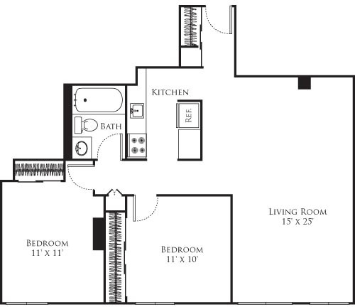 2 Bedrooms, Riverside Rental in Boston, MA for $3,015 - Photo 1