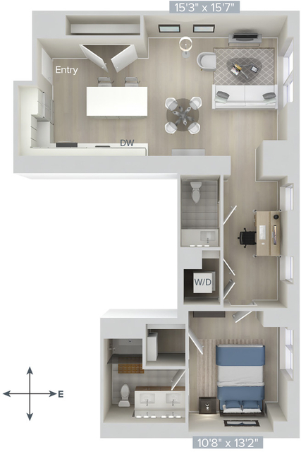 1 Bedroom, Downtown Boston Rental in Boston, MA for $5,200 - Photo 1