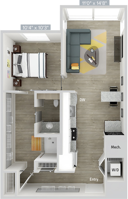 1 Bedroom, East Cambridge Rental in Boston, MA for $3,165 - Photo 1
