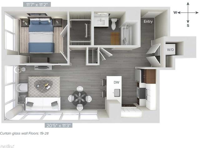 1 Bedroom, Downtown Boston Rental in Boston, MA for $4,475 - Photo 1