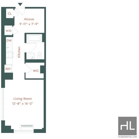 Studio, Prospect Heights Rental in NYC for $3,257 - Photo 1