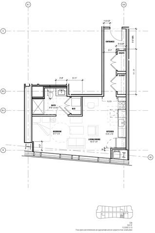Studio, West Fens Rental in Boston, MA for $3,619 - Photo 1
