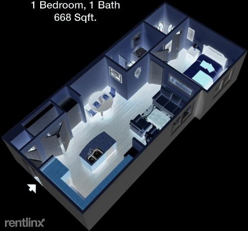 1 Bedroom, Burleson-Joshua Rental in Dallas for $1,138 - Photo 1