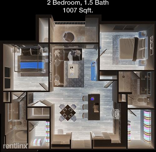 2 Bedrooms, Waxahachie Rental in Dallas for $1,598 - Photo 1