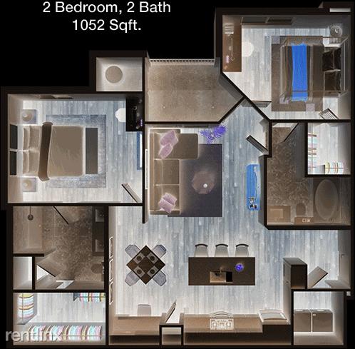 2 Bedrooms, Midlothian Rental in Dallas for $1,604 - Photo 1