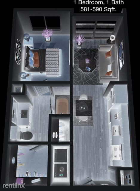 1 Bedroom, North Central Dallas Rental in Dallas for $1,324 - Photo 1