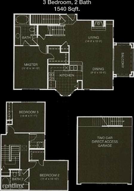3 Bedrooms, Prestonwood 19-20-21 Rental in Dallas for $2,131 - Photo 1
