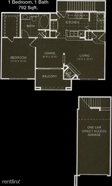 1 Bedroom, Prestonwood 19-20-21 Rental in Dallas for $1,173 - Photo 1