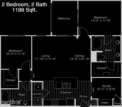 1 Bedroom, Valley View Rental in Dallas for $1,434 - Photo 1