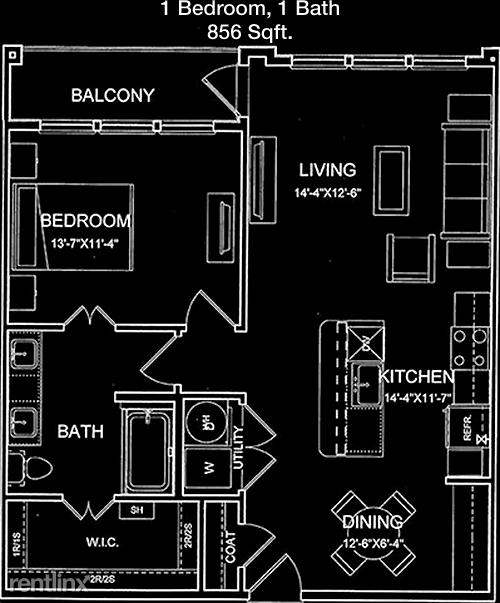1 Bedroom, Hamilton Park Rental in Dallas for $1,188 - Photo 1