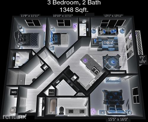 3 Bedrooms, Northeast Dallas Rental in Dallas for $2,124 - Photo 1