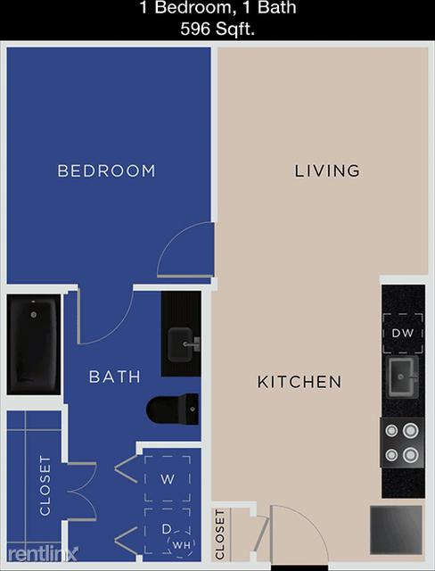 1 Bedroom, Downtown Carrollton Rental in Dallas for $1,215 - Photo 1