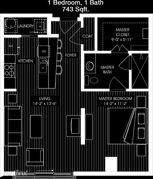 1 Bedroom, Vickery Rental in Dallas for $1,302 - Photo 1
