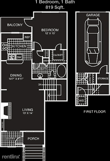 1 Bedroom, Lincolnshire Rental in Dallas for $1,833 - Photo 1