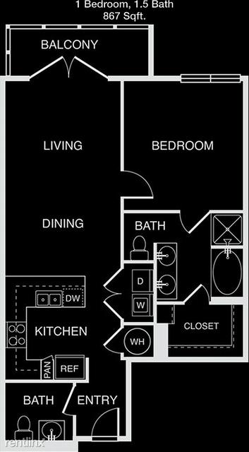 1 Bedroom, North Oaklawn Rental in Dallas for $1,870 - Photo 1