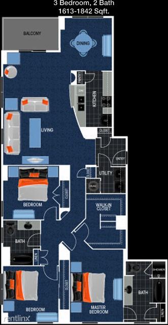 3 Bedrooms, Oak Lawn Rental in Dallas for $3,198 - Photo 1