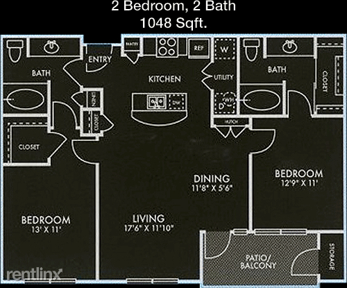 2 Bedrooms, Maple Apartments Rental in Dallas for $1,594 - Photo 1