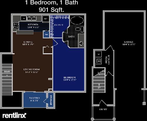 1 Bedroom, Windsor Heights Rental in Denton-Lewisville, TX for $1,298 - Photo 1