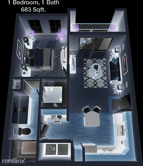 1 Bedroom, Texas City-League City Rental in Houston for $1,060 - Photo 1